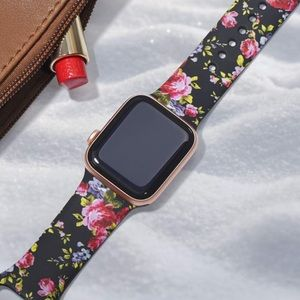 Floral Apple Watch Band Series 4, 3, 2 38/40mm